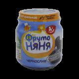 Фрутоняня пюре натуральное Чернослив 100 г