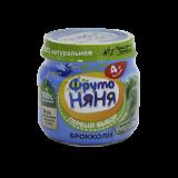 Фрутоняня пюре натуральное из капусты брокколи 80 г