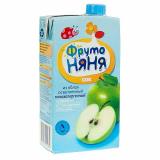 Фрутоняня сок яблочный осветленный 0,5 л