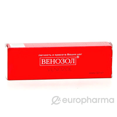 Венозол 50 гр, крем