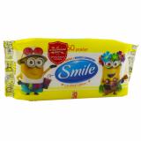 Smile салфетки влажные Minions 60 шт