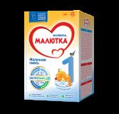 Малютка молочная смесь 1 для детей с 0 месяцев 600 г