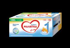 Малютка молочная смесь 1 для детей с 0 месяцев 2*600 г