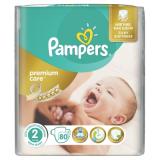 Pampers подгузники Premium Care mini №80