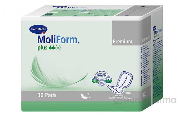 Moliform Premium Plus урол.прокладки анатомические №30