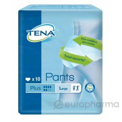 Tena подгузники Pants Plus  L №10  (792610)