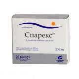 Спарекс 200 мг №30 капс