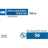 Прегабалин-Рихтер 150 мг №56 капс