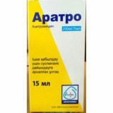 Аратро 200мг/5мл пор д/сусп для приема внутрь