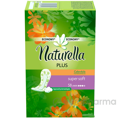 Naturella прокладки ежедневные Calendula tenderness plus №58