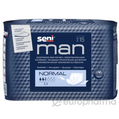 Урологические вкладыши Seni Man Normal 15 шт