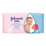Джонсон беби салфетки влажные антибактериальные №25