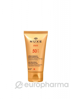 Nuxe крем солнцезащитный для лица SUN SPF50 50мл