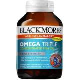 Blackmores Omega Triple  омега тройной усиленная дозировка омега-3 (Омега масла) №150