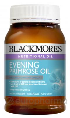 Blackmores масло энотеры Омега-6 кислоты (GLA)и(LA) (Омега масла) или жен здоровье №190