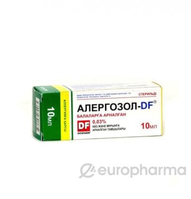 Алергозол-ДF 0,03%, 10 мл, капли