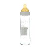 NUK Бутылка стекло New Classik с латексной соской (р1) соска FC+ 240 мл