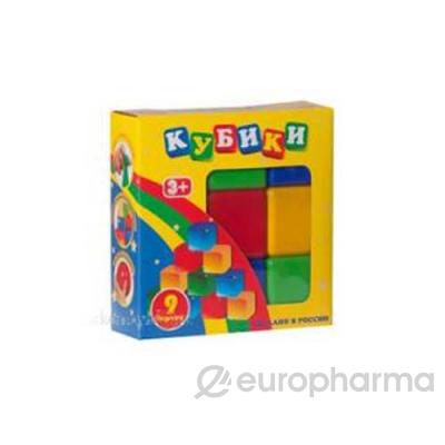 Новотойс Кубики в наборе из 12 шт