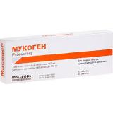 Мукоген 100 мг, №30, табл.