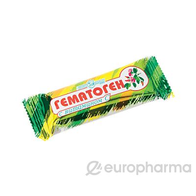 Гематоген народный с витамином С 40 гр