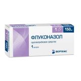 Флуконазол 150 мг, №1, капс.