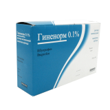 Гиненорм 0,1% 100 мл  5 раствор вагинальный