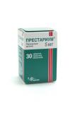 Престариум 5 мг № 30 табл покрытые оболочкой