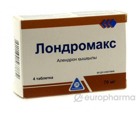 Лондромакс 70 мг, №4, табл.