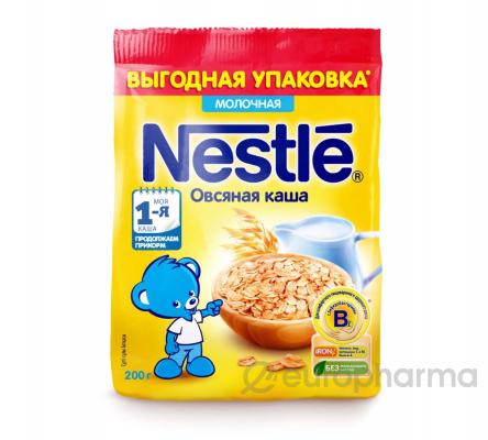 Нестле Каша овсяная молочная 11*200 гр