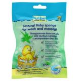 Babyline губка детская для мытья и массажа обычная