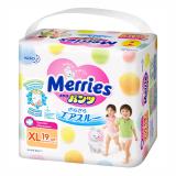 Merries труссики для детей 12-22 кг XL  № 19 шт