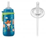 NIP поильник пластиковый для мальчиков