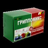 Гриппомикс со вкусом лесных ягод № 10 пор. д/приг. р-ра для приёма внутрь