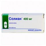 Солиан 400 мг, №30, табл.