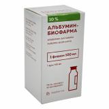 Альбумин 10% 100 мл раствор для инфузий