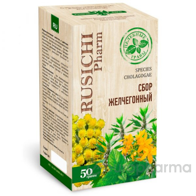 Желчегонный сбор 50 гр, фито чай