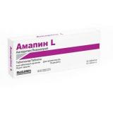 Амапин L 250 мг №10, табл.
