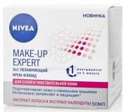 Nivea крем-флюид увлажняющий для сухой и чувствительной кожи Make up Expert 50 мл