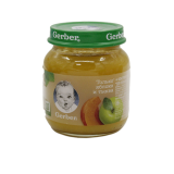 Gerber пюре яблоко и тыква детское 130 г
