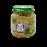 Gerber пюре кабачок, яблоко детское 130 г