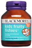 Blackmores Kids Fruity Fishies фруктовые рыбки для детей (Омега-3) (Детские витамины) №30