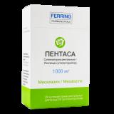 Пентаса 1000 мг № 28 суппозит. ректал.