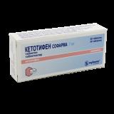 Кетотифен 1 мг № 30 табл