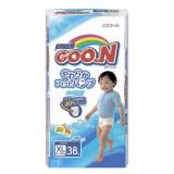 Goon подгузники-трусики 12-20 кг для мальчиков XL 38 шт