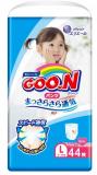 Goon подгузники-трусики 9-14 кг для девочек L 44 шт