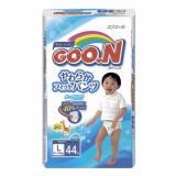 Goon подгузники-трусики 9-14 кг для мальчиков L 44 шт
