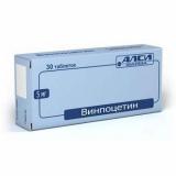 Винпоцетин 5 мг №30 табл