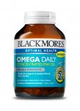 Blackmores Omega Daily Блэкмрс омега дейли с удвоенной дозировкой омега-3 (Омега масла) №90