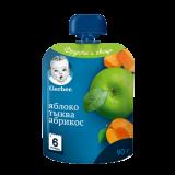 Gerber пюре яблоко тыква абрикос для детей с 6 месяцев 90 г