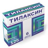 Тилаксин 125 мг №6,табл